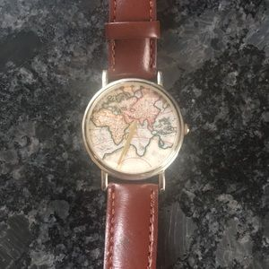 Leather UO map watch